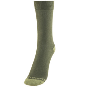 Craghoppers NosiLife Socks Men Twin Pack Parka Green/Dry Grass